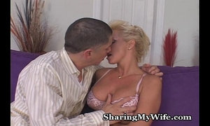 Lingerie Wifey Shared With Young Cock
