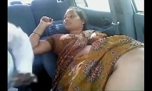 Tamil Married Aunty Other Men In Car