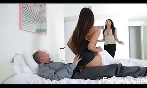 Horny Pretty Stepdaughter Sucks Dick To Skip  school  |FamSuck.com