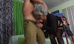 He Knows How To Cure This Granny @ Horny Grannies Love To Fuck #12