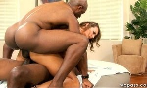Interracial DP Anal or Fired, You Choose